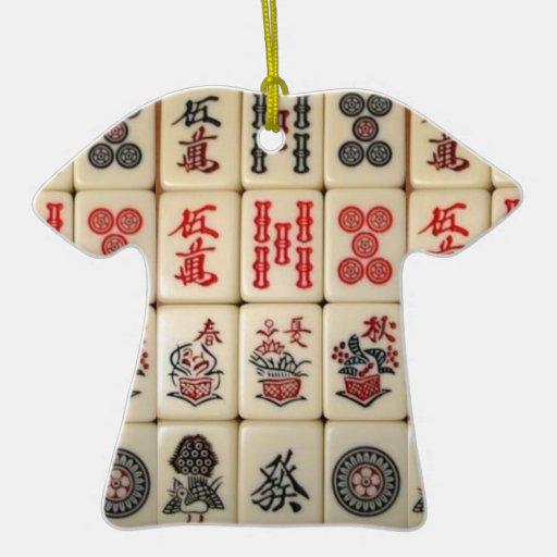 Mahjong tiles ornament