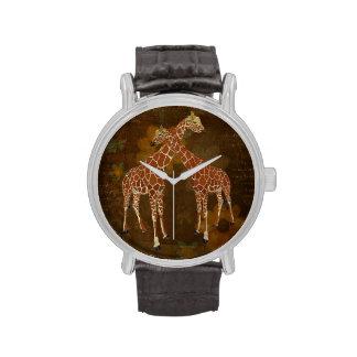 Mahogany Giraffes Watch