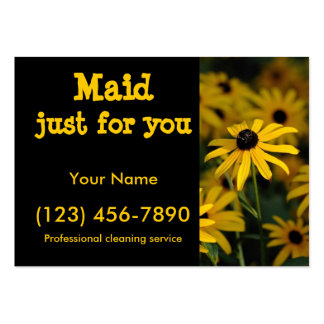 Maid just for you pack of chubby business cards