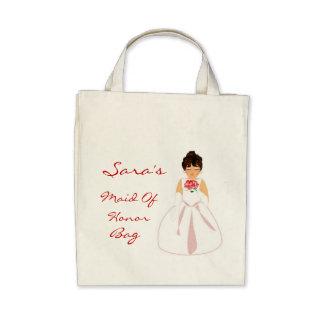 Maid Of Honor Bag III Canvas Bags