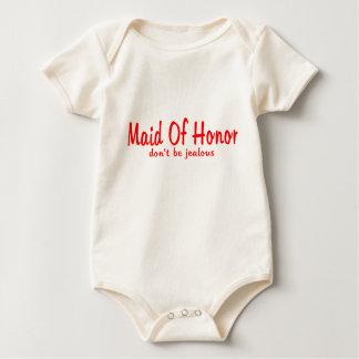 Maid Of Honor Jealousy Baby Bodysuit