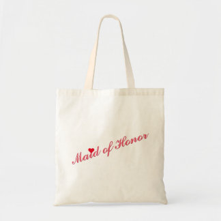 Maid of Honor Wedding Bridal Shower Party Tote Bag