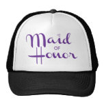Maid of Honour Retro Script Cap