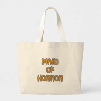 Maid of Horror Large Tote Bag