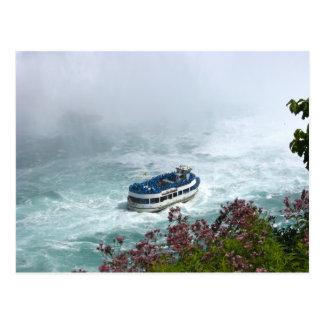 Maid of the Mist Boat at Niagara Falls, Postcard