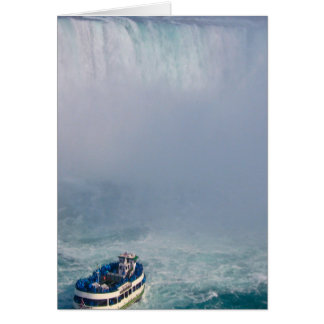 Maid of the Mist Rainbow Niagara Falls, Canada Card