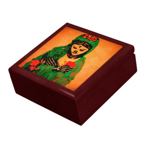 Maiden Hell Inc Day of the Dead Tile Top Gift Box
