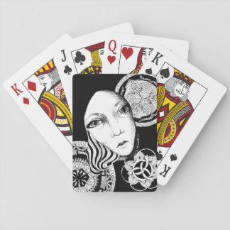 Maiden of the Night Playing Cards