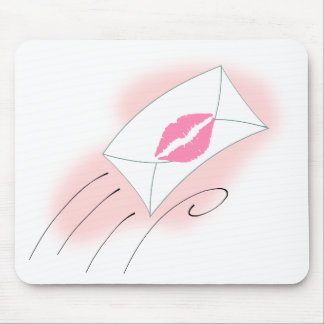 mail-30233  mail envelope cartoon lips letter kiss mouse pad
