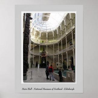 Main Hall - National Museum of Scotland - Edinburg Print