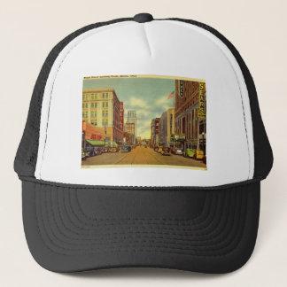 Main St., Akron, Ohio Vintage Trucker Hat