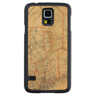 Maine 18 carved maple galaxy s5 case