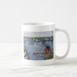 Maine Boothbay harbor Coffee Mug