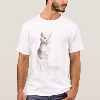 Maine Coon (8 months old) sitting T-Shirt
