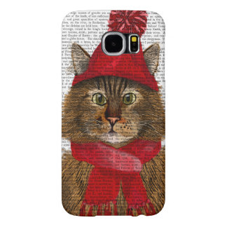 Maine Coon Cat Samsung Galaxy S6 Cases