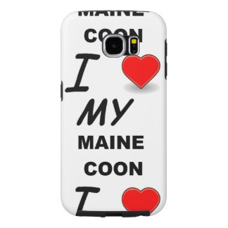 maine coon love samsung galaxy s6 cases