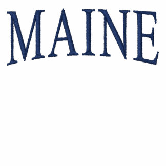 MAINE Embroidered Shirt