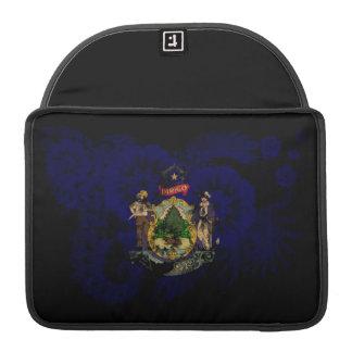 Maine Flag Sleeve For MacBooks