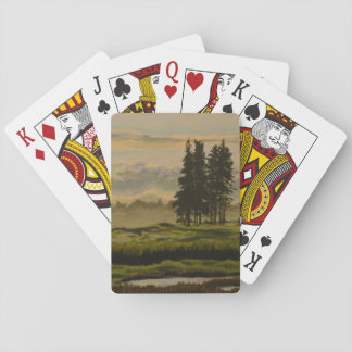 Maine Marsh Landscape Playing Cards