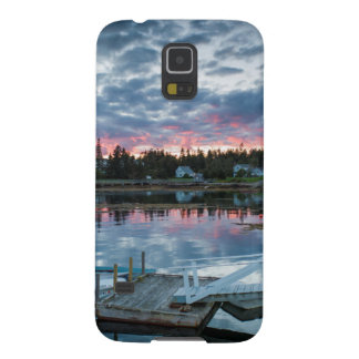 Maine, Newagen, sunset harbor 2 2 Cases For Galaxy S5