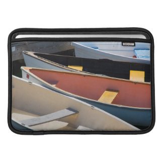Maine, Rockland. Colorful boats in Rockland Sleeve For MacBook Air