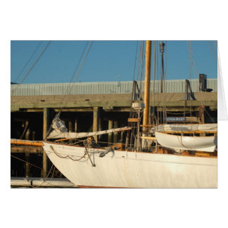 Maine Sailboat Greeting Card