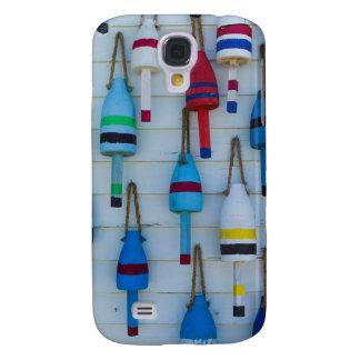 Maine, Stonington, decorative lobster buoys Galaxy S4 Case