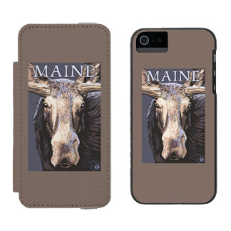 MaineMoose Up Close Incipio Watson™ iPhone 5 Wallet Case