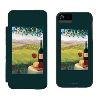 MaineWine Country Scene Incipio Watson™ iPhone 5 Wallet Case