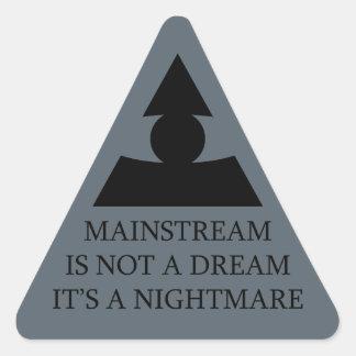 Mainstream Nightmare Triangle Sticker