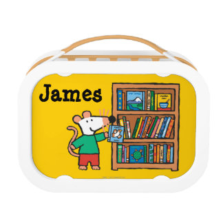 Maisy and a Bookshelf of Books Lunch Box