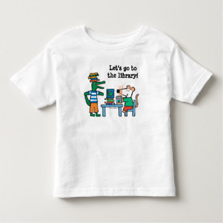 Maisy and Friends Enjoy the Library Toddler T-Shirt