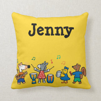 Maisy and Friends Play in the Band Cushion