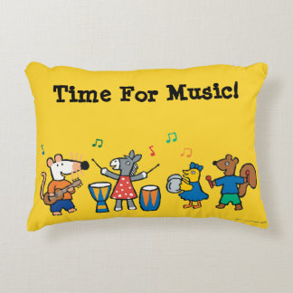 Maisy and Friends Play in the Band Decorative Cushion