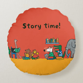 Maisy and Friends Read Together Round Cushion