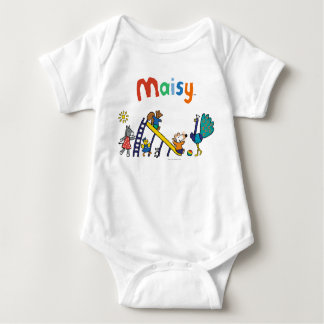 Maisy on the Playground with Friends Baby Bodysuit