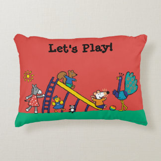 Maisy on the Playground with Friends Decorative Cushion