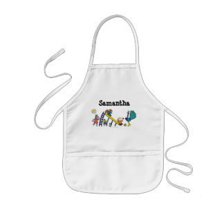 Maisy on the Playground with Friends Kids Apron