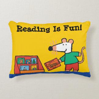 Maisy with Library Books Decorative Cushion