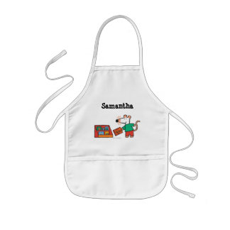 Maisy with Library Books Kids Apron