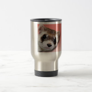 Majestic Black-Footed Ferret Travel Mug