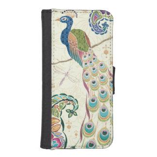 Majestic Blue Peacock iPhone SE/5/5s Wallet Case