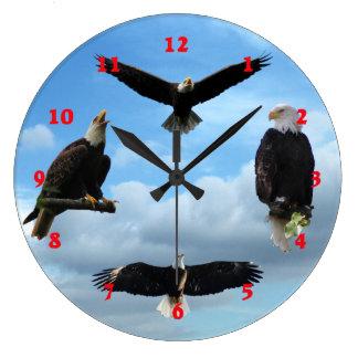 Majestic Eagle Wall Clock