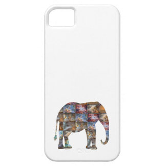 Majestic Friendly Animal Elephant Marble Tiles iPhone 5 Cases