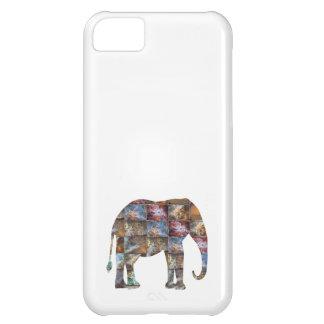 Majestic Friendly Animal : Elephant Marble Tiles iPhone 5C Case
