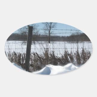 Majestic Snow Sticker