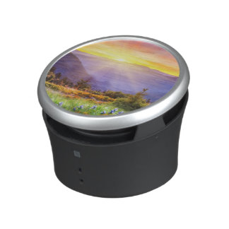 Majestic sunset in the mountains landscape speaker