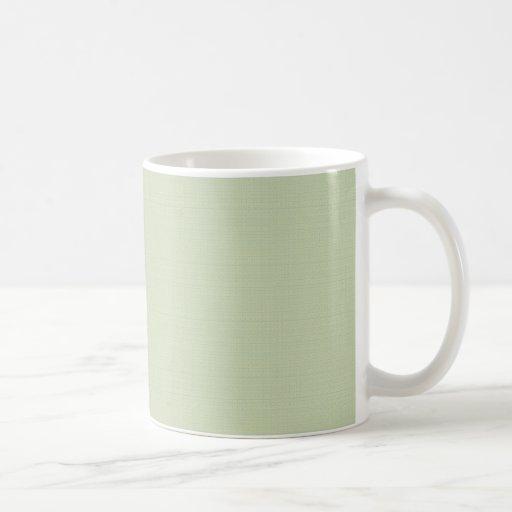 Majestic  tiny white flowers with heart shape peta mugs