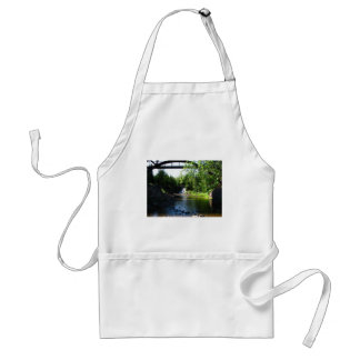 Majestic Waterfall at Gooseberry Falls – Nature Adult Apron