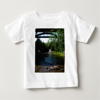 Majestic Waterfall at Gooseberry Falls - Nature Baby T-Shirt